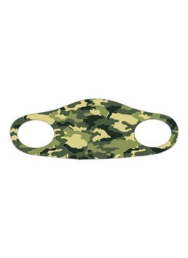 Noon Collection Maske Yeşil